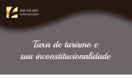 Taxa de turismo e sua inconstitucionalidade